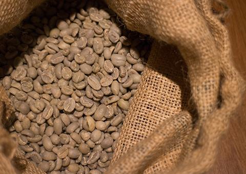 スペシャルティーコーヒーを生豆で仕入れます。
